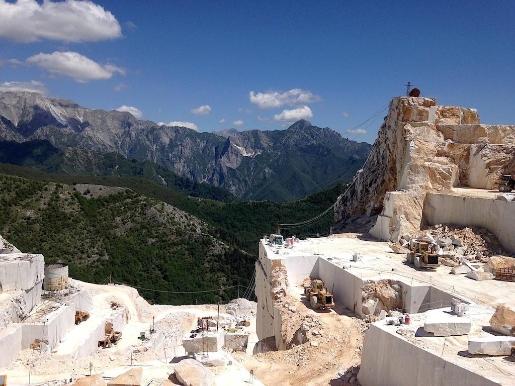 Carrara Marmor Besichtigung